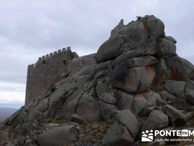 La sierra de Paramera - Castillo de Manqueospese / Aunqueospese - Castro Celta de Ulaca; senderismo